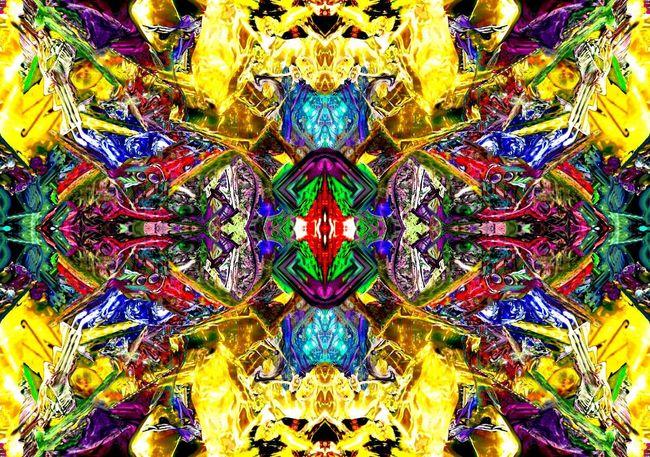 """""""Firewalker panels 1-4"""" #abstract  #Acrylic #art #Artist #ArtWork #Kaleidoscopic #Kinetic #Multimedia #MyStyle #Surréalisme #unique #uniquely_me"""
