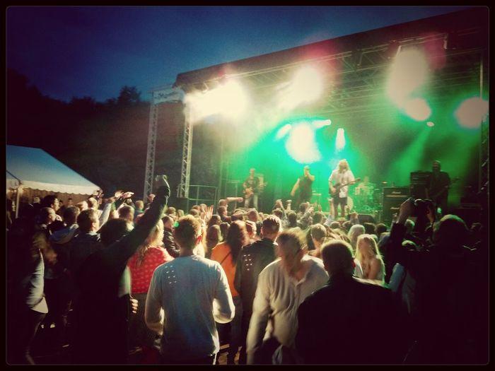Dirty Deeds, AC/DC tribute band at Midsundfestivalen