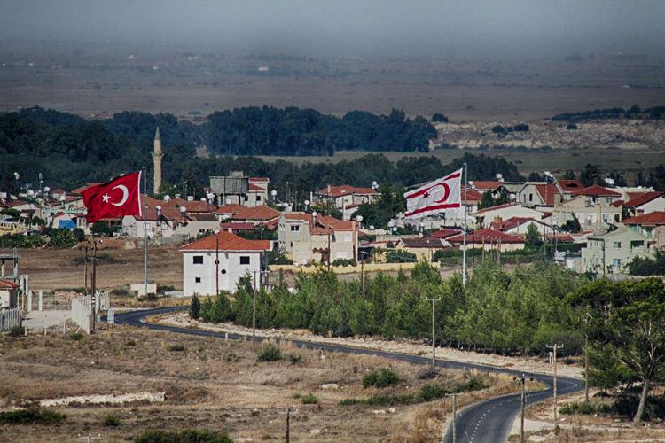 Meriç Architecture Day Flag Landscape Mora Nature Northcyprus Outdoors Village