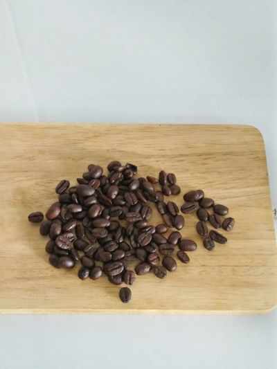 Coffee ☕ Food And Drink Roasted Coffee Bean Food Healthy Eating Freshness Indoors  High Angle View Wood - Material No People Seed Table Scented Close-up Studio Shot Drink Day
