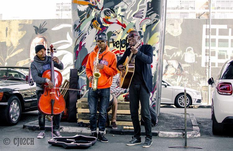 Band Casual Clothing City City Life City Street Day Leisure Activity Lifestyles Maboneng Precinct Outdoors The Street Photographer - 2018 EyeEm Awards