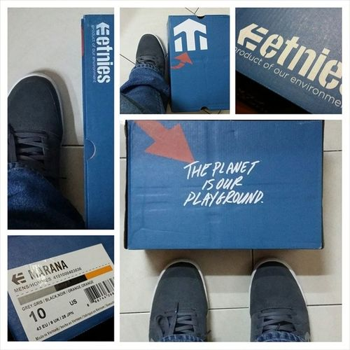 Brand new kicks Etnies Maraña from Smellthestreetskateshop  Awesome Weekend Brunei happybrunei happeningsbn