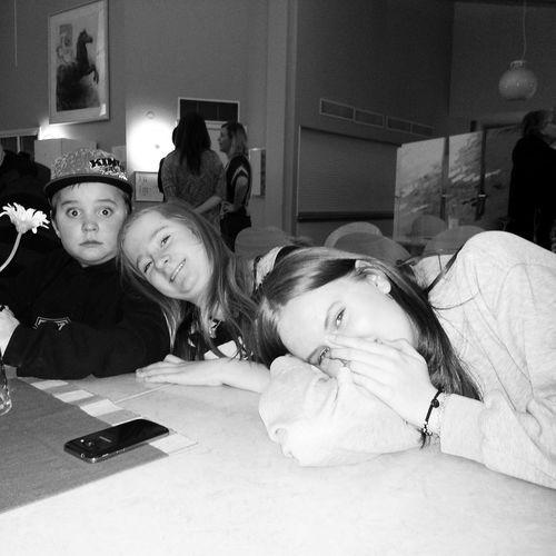 Bjudfika med Anjas klass :-) My Daughter ♥ Cousins ❤ Sponsoring Kågeskolan Schooltrip