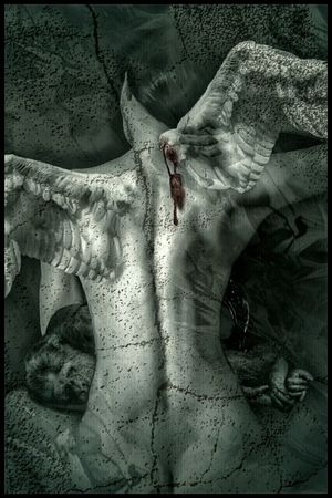 The Price - redo. The Not So Human Condition Perception Dark Fairytale Love & Light Visual Poetry Fairytales & Dreams Creative Power Unconditional Love Visual Poem La Jeune Femme Et La Lune
