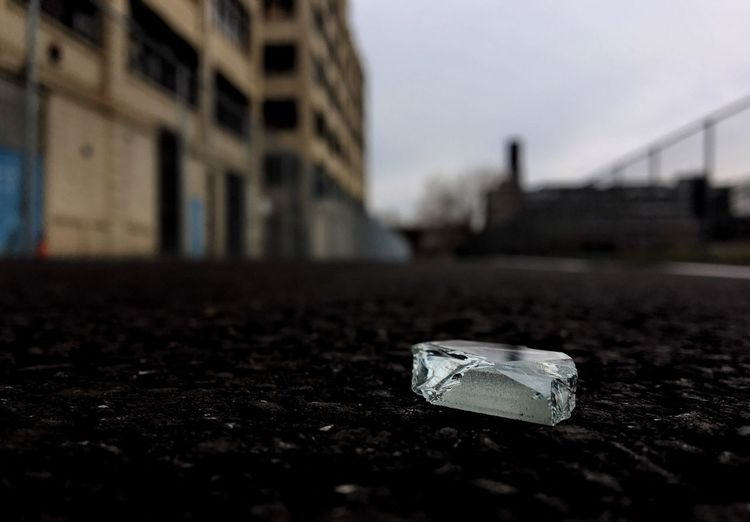 Industrial Landscapes Industrial Low Angle View Enthropy Broken Glass Surface Level No People Architecture Outdoors Close-up Building Exterior Day Sky
