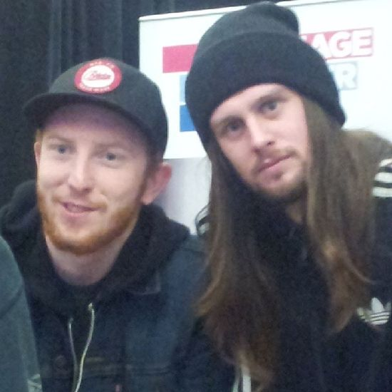 Loz's stare tho Fuckman Whileshesleeps DeathStare Souleater creepy wss