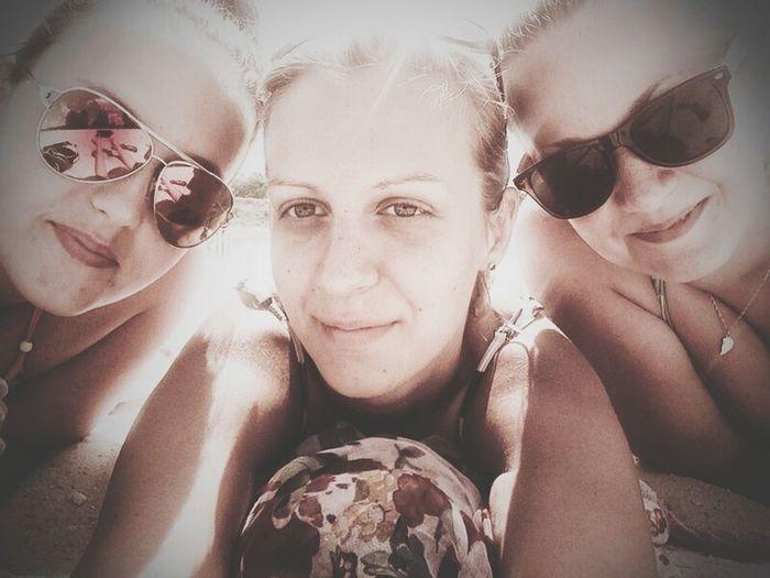 Z Misiolkami :-* lezing plazing smazing :D BEACH!  Relaxing Sun