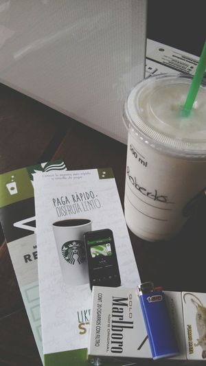 Coffee And Cigarettes Ilovecoffee Starbuckstime Wit My Bro