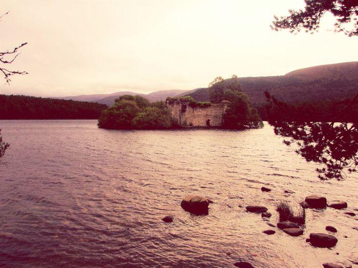 Loch an Eilein Lake Landscape Water Loch An Eilein Scotland Scottish Highlands Nature Castle Ruins EyEm New Here