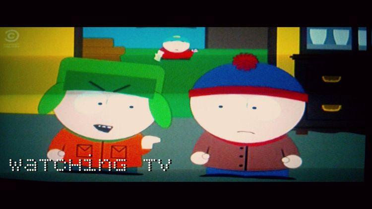 watching tv Watching Tv Jennifer Lopez Southpark Eric Cartman