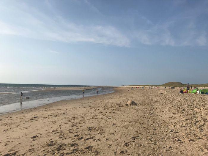 Beach Land Sky
