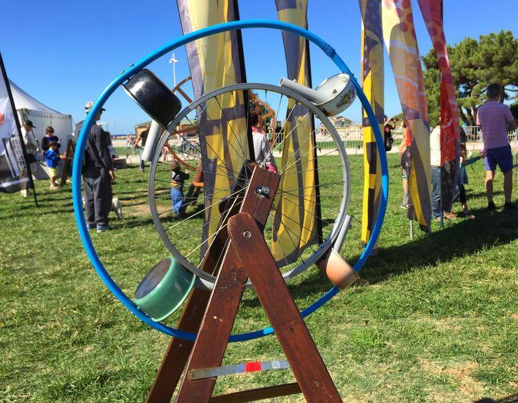 Marseille Windfestival Kites Musicalwindinstruments