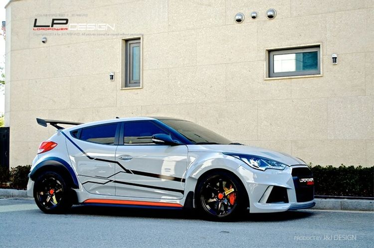 나만의 차를 완성하는 곳_로드파워디자인 LORDPOWER DESIGN Veloster Raptor Veloster Hyundai Veloster Turbo Kdm Tuned Veloster Full Body Kit Veloster Bodykit
