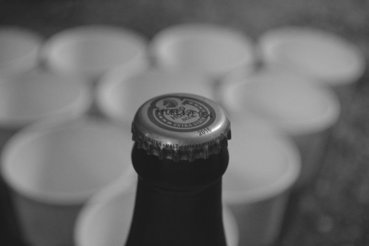 #beer #beerpong #monochrome #Monochrome Photography #Newyear #nikon #redhorse