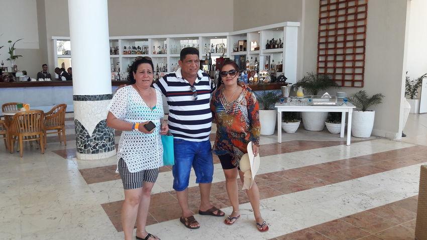 Cayo Coco Cuba Friendship Young Women Togetherness Full Length Bonding Standing Women Domestic Life