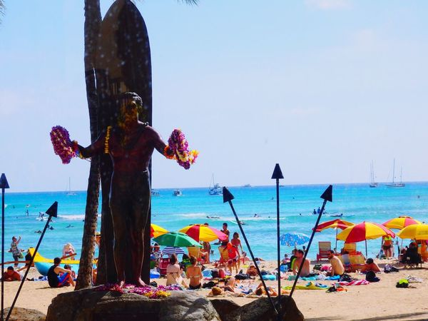 Waikiki Beach Hawaii Beach Sea And Sky Nature Photography