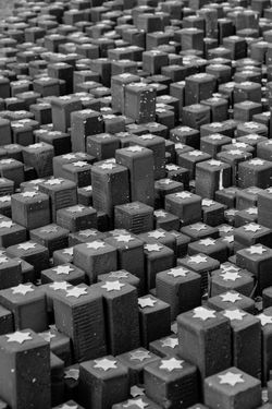 Backgrounds Close-up Day Full Frame Indoors  Large Group Of Objects No People Stack Textured  Westerbork