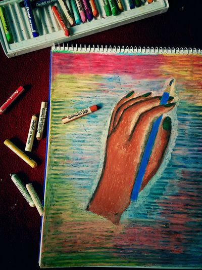 Hand ArtWork Colorpastel Hobby Showcase: February ILoveDrawing ILoveColors Iphonephotography Drawing Time Sketchbook My Art