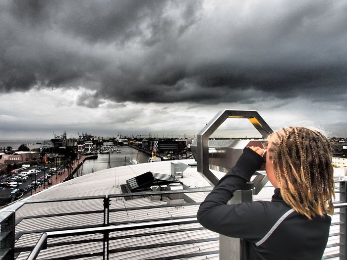 ... Ausblick ... Vom Klimahaus in Bremerhaven ... Enjoying Life Klimahaus Clouds And Sky Olympus OM-D EM-1 Clouds
