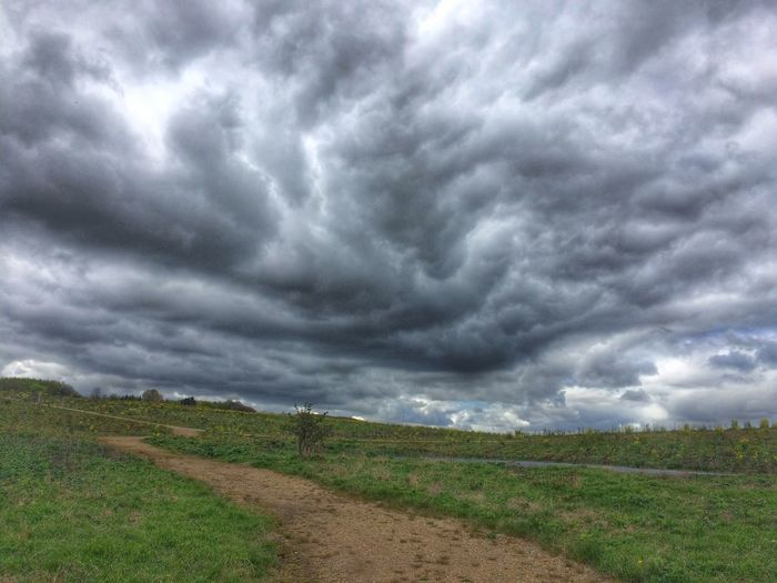 The sky was about to boil! Kind of... Sky Clouds Clouds And Sky Storm åboskov Harlev J Denmark