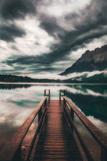 Germany Water Lake Mountain Sky Landscape