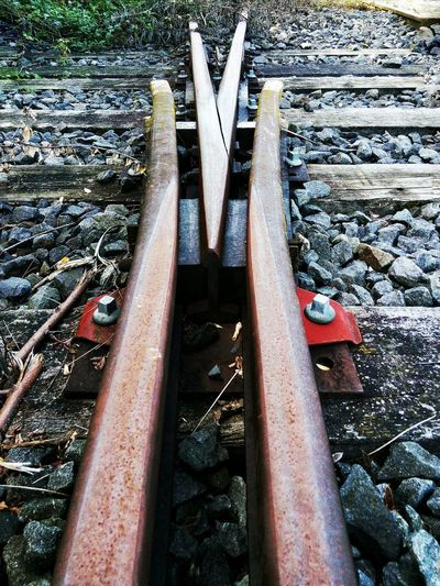 Learn & Shoot: Leading Lines Phoneography Railroadphotography Rost N' Steel