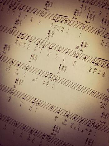 時をかける少女。練習中なう。可愛い歌詞でございますね。