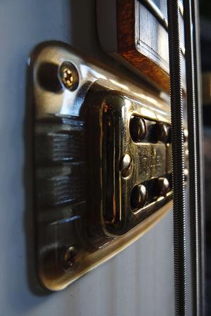 Classic Music Close Up Gretsch Guitar Guitar Pickups Guitar Strings Music Musical Instrument Rock Music Tv Jones Pickup Vintage Guitar