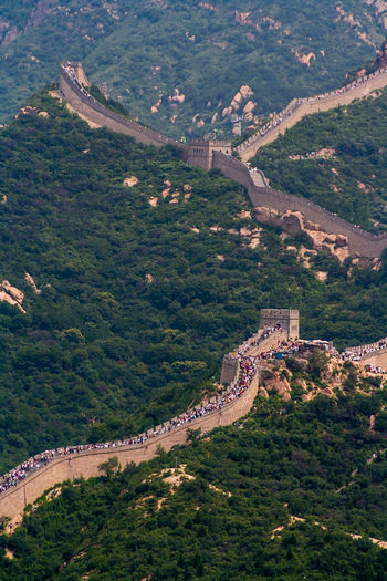 China wall without dust, but with many people. China/Great Wall ASIA China China Photos Chinesische Mauer Gewaltig Great Wall Of China Grenze Große Mauer Historical Building Historical Place Historisch Kaiserzeit Krieg Macht Sightseeing The Great Wall Of China Tourismusziel Walls War