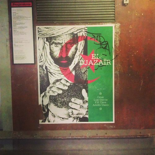 Le mur de résidence دیوار مقاومت Paris IVRY Aljerie Eldjezirah