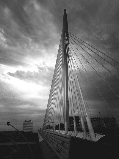 Bridgeporn Maximabrug Utrecht Black And White Photography Bnw_friday_eyeemchallenge UOgraphy for the love of architecture
