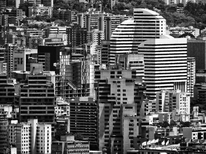 Urban Buildings In Venezuela