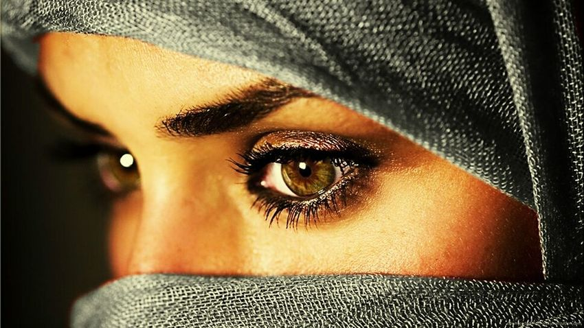 Brown Eyes Arabic Pretty Awesome Eyes