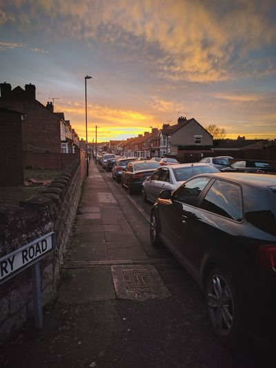 Victory Sunset Car Road Outdoors Sky No People First Eyeem Photo