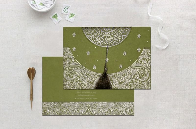Muslim Wedding Cards   AI-8234C   A2zWeddingCards Incorporating beautiful prints and subtle hues, the elegance of Islamic Wedding Invitations is definitely implausible and falling in love with this card is obvious due is superior quality in pocket friendly prices. Shop now @ https://www.a2zweddingcards.com/card-detail/AI-8234C Islamic Cards Islamic Invitations Islamic Wedding Invitations Muslim Cards, Muslim Wedding Cards Muslim Wedding Invitations Nikaah Cards Nikaah Invites