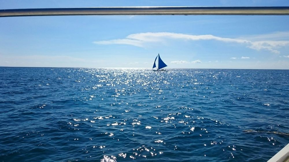 Seascape Sea And Sky Horizon Over Water Blue Sailing HighTimes Hello World Enjoying Life Sony Xperia Z3 Travel Photography Taking Photos Eyeem Philippines Album Outdoor Photography Purist No Edit No Filter Purist In Photography Showcase July