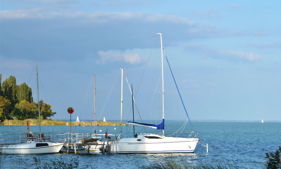 Balaton Boat Harbor Journey Lake Lake View Nautical Vessel Outdoors Sailboat Tihany Travel Vacation Vacations Water