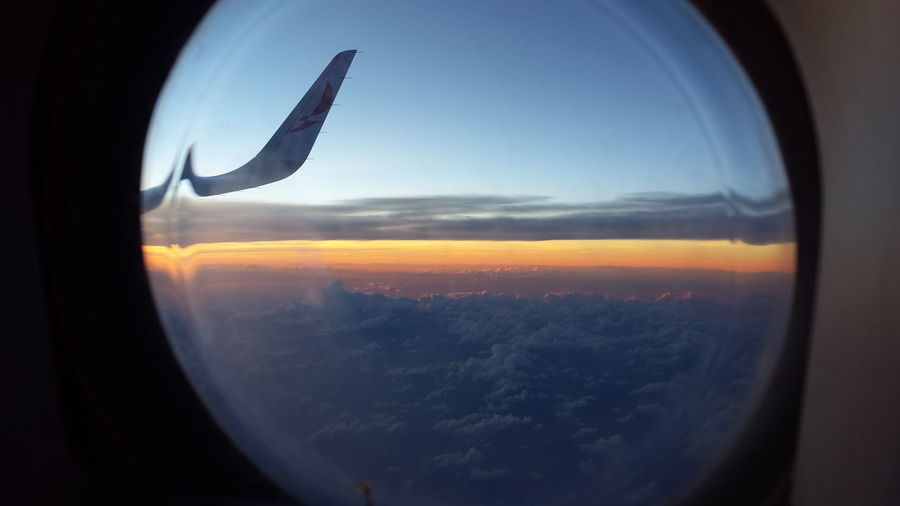 MIA-SAL From An Airplane Window