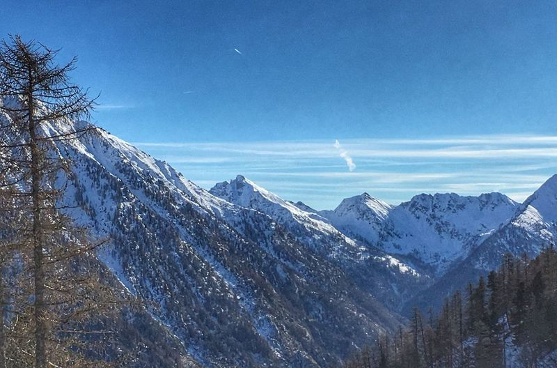Snow Winter Cold Temperature Mountain Nature Beauty In Nature Sky Landscape