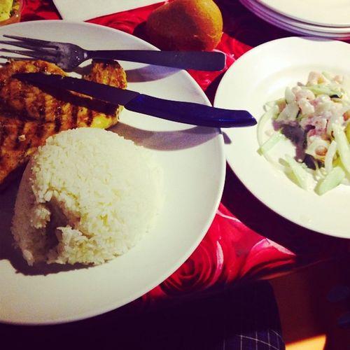 Meka Riz Poisson Cru Tahitian Food Loveit ❤️
