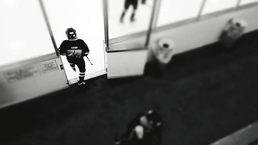 #hockeylife #hockeymom #hisbiggestfan #Gameday Full Length Sport Lifestyles One Person Skill