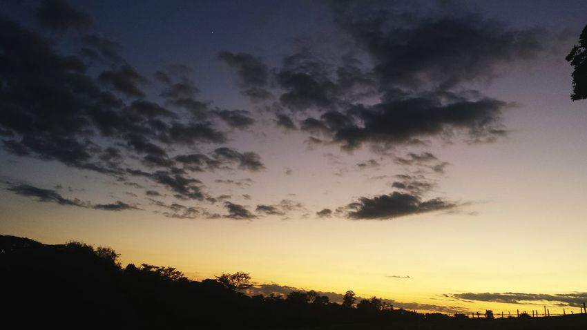Naturelovers Nature_collection Skylovers Sky_collection Sunrise Silhouette Clouds Collection Clouds And Sky Time To Wake Up Time To Work Good Morning 50 Shades Of Sunrise Skycolors Sunrise_Collection Sunrise The Purist (no Edit, No Filter)