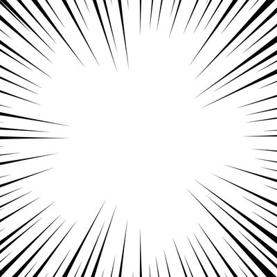 Comic book white and black radial lines background. Superhero action, explosion background, manga speed frame, illustration Black Power Radial Retro Anime Explosion Force HERO LINE Manga Perspective Ray Superhero Action Book Burst Cartoon Comic Creative Effect Motion Novel Space Speed Template
