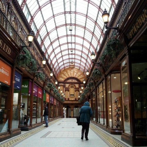 Central Arcade Newcastle Centralarcade Engeland Greatbrittain England arcade