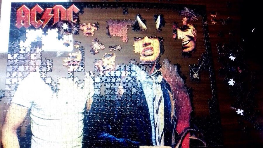 ACDC Paciencia Rompecabezas Ratos De Ocio Pixelated