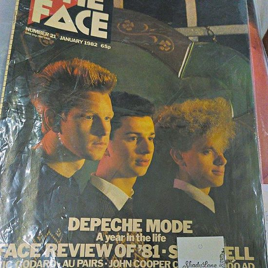 Definitely Feeling old. I was 3 months away from turning 12 when this issue came out with a fresh-faced Depechemode on the cover.