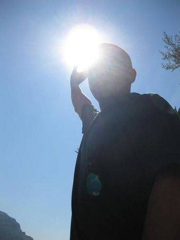 Clear Sky Lens Flare Pompeii  Power Shining Silhouette Sun Zeus Zeus Thunderbolt