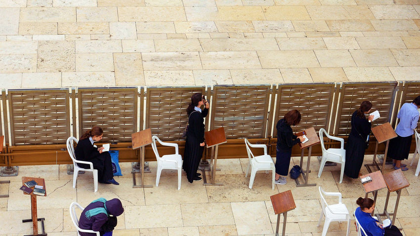Adult Auditorium Business Person Chair Colleague Communication Corporate Business Coworker Discussion Group Of People Indoors  Jerusalem Jerusalem Israel Listening Men People Presentation Seminar Sitting Standing Suit Wailing Wall Well-dressed Western Wall Women An Eye For Travel