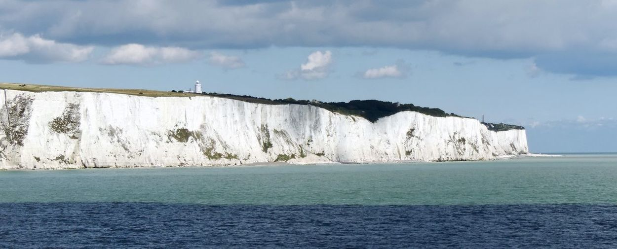 White Cliffs Beauty In Nature Cliff Cliffs England Nature Sea Vacation Water White White Cliffs Of Dover