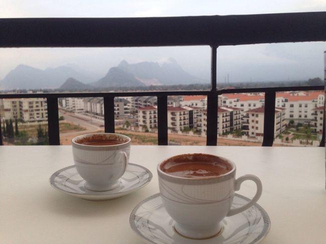 Kahve Keyfi Balkon Sefası